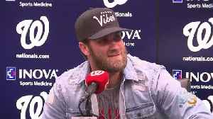 Bryce Harper Gets Emotional Talking About Being A Father [Video]