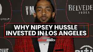 How the late, Grammy-nominated rapper Nipsey Hussle used his star power to improve his community [Video]