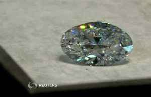 Rare 88.22-carat oval diamond is sold at Hong Kong auction for over $11 million [Video]