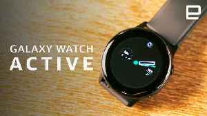 Samsung Galaxy Watch Active Review [Video]