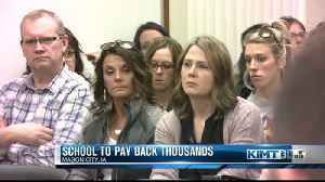 School to pay back thousands [Video]