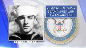 Remains of seaman killed in WWII to be returned to Wisconsin [Video]