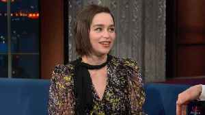 Emilia Clarke Told One Person How 'Game Of Thrones' Ends [Video]