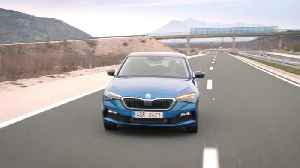 Skoda Scala Driving Teaser [Video]
