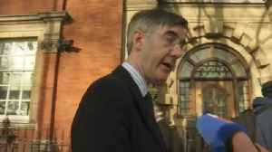 'Brexit isn't done for', says Rees-Mogg, but he won't move against May after losing last year [Video]