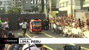 Bolt races against a motorcycle taxi and wins [Video]