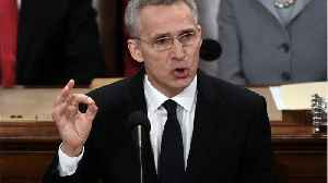 NATO Chief Urges Unity While Warning Of Russian Threat [Video]