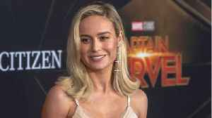 Brie Larson Celebrates Latest Captain Marvel Milestone [Video]