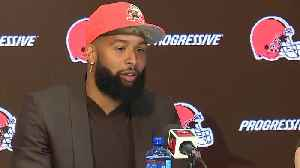Odell Beckham Jr. shouts out Sheboygan in Browns introductory press conference [Video]