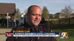 Monroe police say no danger to public after two shootings [Video]