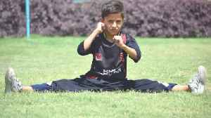 Boy, Nine, Who Took Up Gymnastics After Fleeing Taliban Sets New Breakdancing World Record – Performing 46 'helicopter Spins [Video]