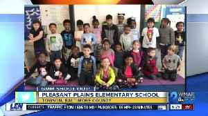 Good morning from Pleasant Plains Elementary School! [Video]