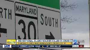 Maryland National Guard Soldier dies after crash in Reisterstown [Video]