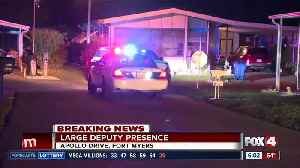 Large deputy presence in Fort Myers mobile home park overnight [Video]
