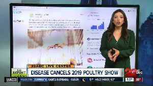 Kern County Fair cancels 2019 Poultry Show due to disease outbreak [Video]