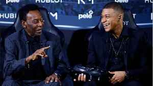 Soccer Legend Pele Hospitalized In Paris In Non-Life-Threatening Condition [Video]
