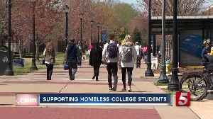 Bill aims to help homeless college students [Video]