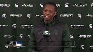 Cassius Winston says campus life has been crazy for MSU players [Video]