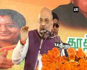 Amit Shah slams Congress for promising amendment in AFSPA Act in their manifesto [Video]