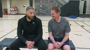 Mike Max Shoots Hoops With Royce White [Video]