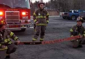 Firefighters Use Training Drill to Help Lieutenant Propose to Girlfriend [Video]
