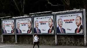 Watch: Tensions high in Istanbul as Erdogan's AK Party contest election results [Video]