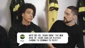Axel Witsel is backing Jadon Sancho to make it right to the top [Video]