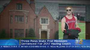 Frat Members Get Jail Time In Hazing Death [Video]