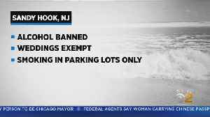 N.J. Beach Bans Booze [Video]