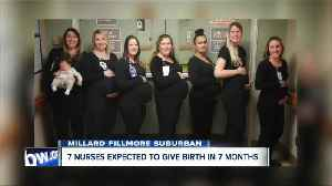 7 intensive care unit nurses are expecting babies in the next 7 months at Millard Fillmore Hospital [Video]