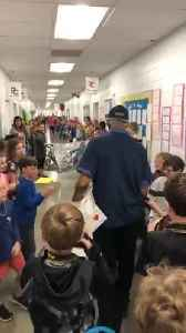 80-Year-Old Janitor Receives Birthday Surprise From Nearly 800 Students [Video]