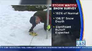 Final Snowpack Survey Finds Things Well Above Normal [Video]