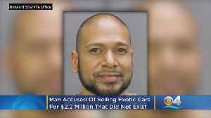 Pompano Beach Salesman Accused Of Selling Non-Existent Exotic Cars [Video]