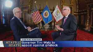 Walz Prepares For 1st State Of The State [Video]