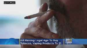 Md. House Approves Bill Raising Legal Age To Buy Tobacco, Vaping Products From 18 To 21 [Video]