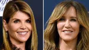 Felicity Huffman, Lori Loughlin Make Court Appearance Over College Admissions Scandal [Video]