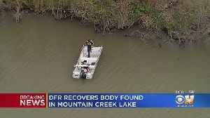 Dallas-Fire Rescue Recovers Body From Mountain Creek Lake [Video]