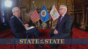 Gov. Walz Speaks To WCCO Ahead Of SOTS [Video]