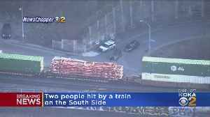 Two People Hit By Train On South Side [Video]