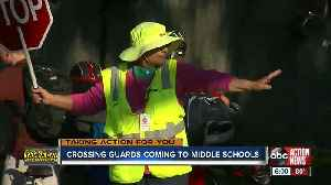 Hillsborough Co. middle schools will get crossing guards next fall [Video]