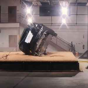Here's why Tesla's Model X doesn't roll over in crash tests [Video]