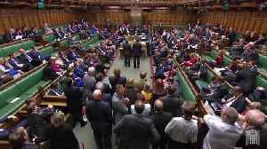 MPs vote to further delay Brexit date by one vote [Video]
