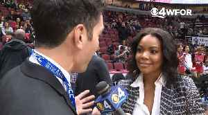 WEB EXTRA: Gabrielle Union Discusses Husband Dwyane Wade's One Last Dance Tour & His Final Game In Hometown Of Chicago [Video]