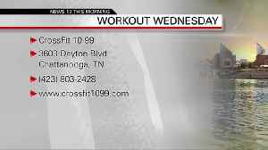 Workout Wednesday - Crossfit 10-99 04-03-19 [Video]