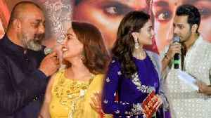 Madhuri Calls Sanjay Dutt Sir, Varun Teases Alia | Kalank Trailer Launch FULL EVENT [Video]