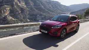 2019 Ford Kuga ST Line Driving Video [Video]