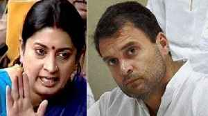 Smriti Irani Targets Rahul Gandhi over Robert Vadra issue |Oneindia News [Video]
