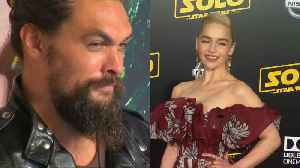 Jason Momoa grows emotional as he reflects on 'nearly losing' Emilia Clarke [Video]