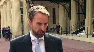 Southgate: 'Proud and humbling to receive OBE' [Video]