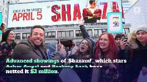 'Shazam!' Could Make up to $50 Million Its Opening Weekend [Video]